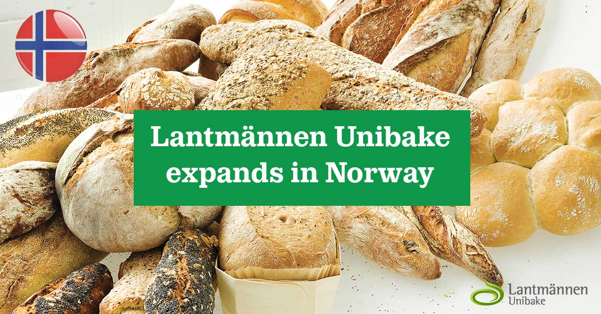 12 June Lantmännen Unibake expands in Norway